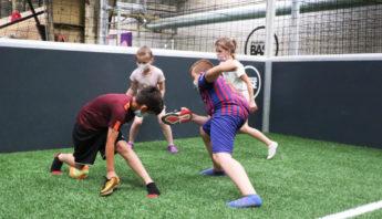 Schuh-Fußball